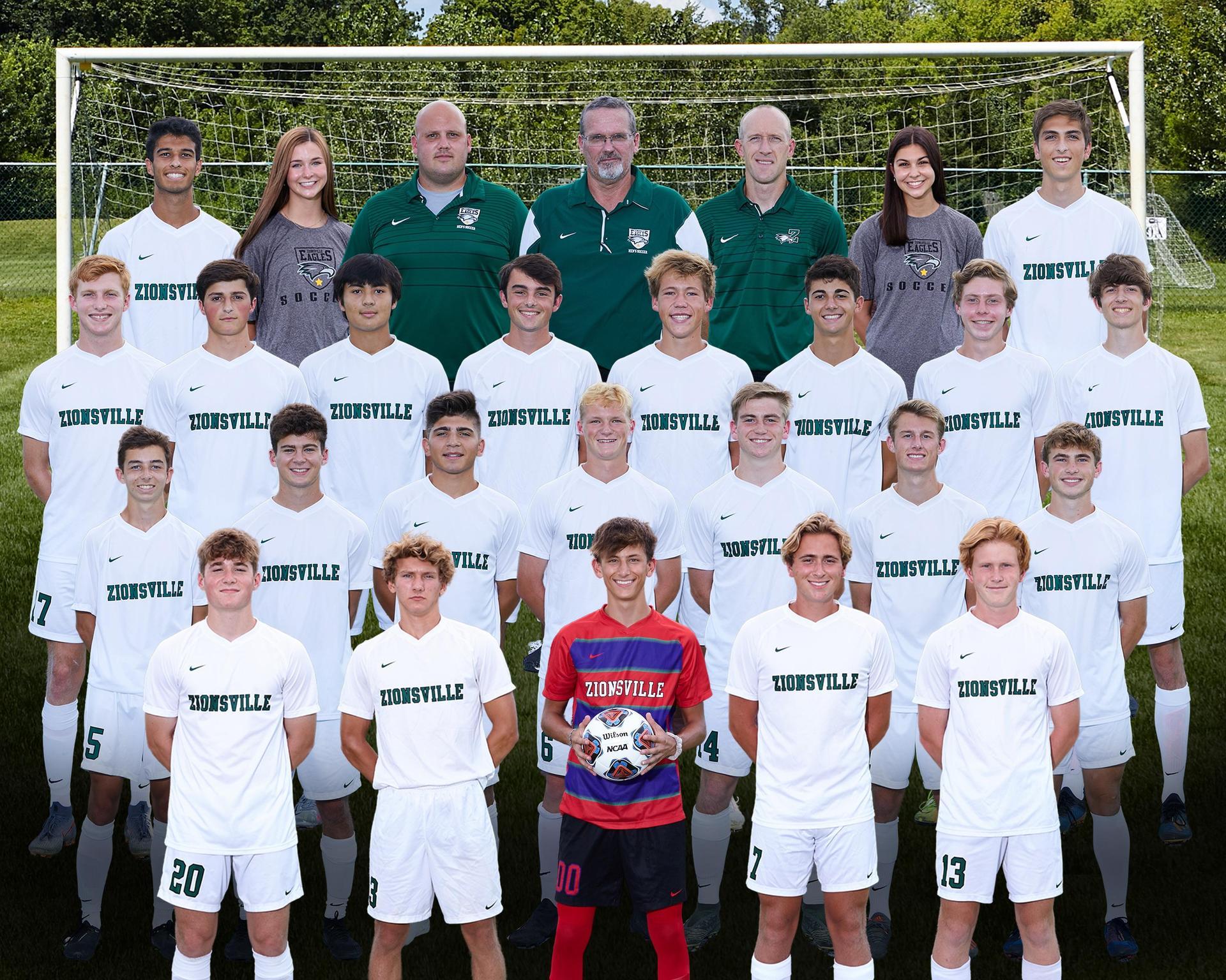 2020 Boys Varsity Soccer Team