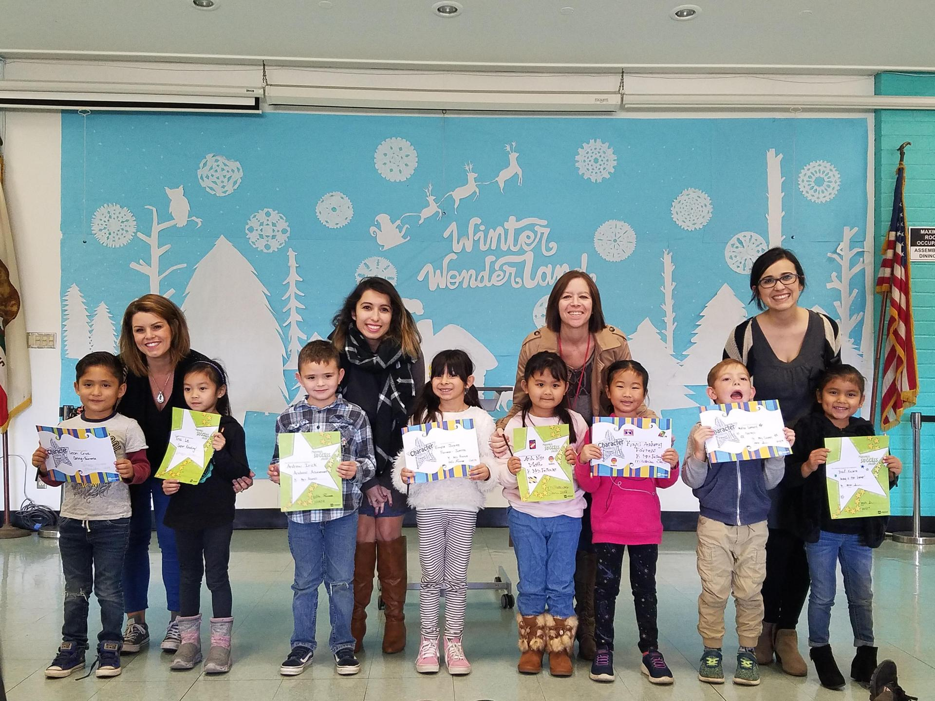 TK - Kindergarten Winners