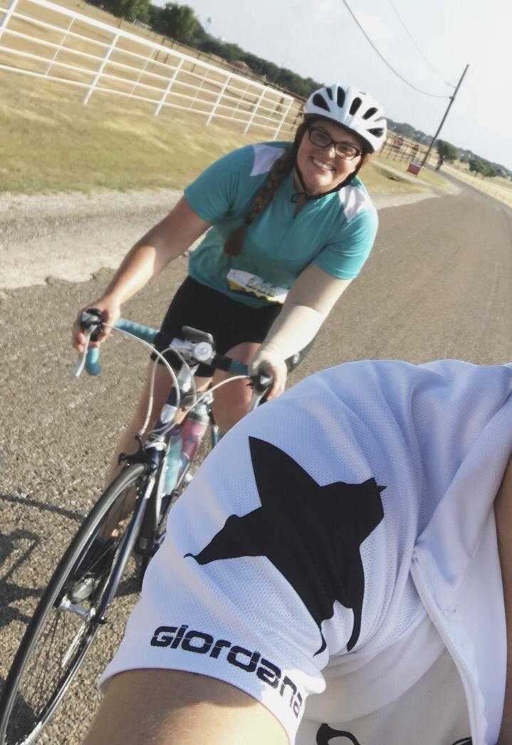Over the summer I participated in the Cow Creek Classic Bike ride and rode 40 miles.