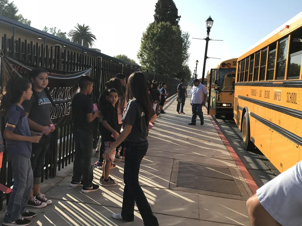 PBIS Expectation Rotation - Buses