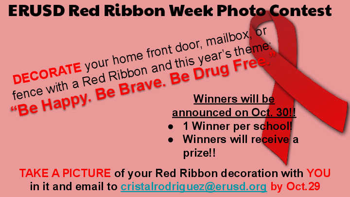 Red Ribbon Week Photo Contest