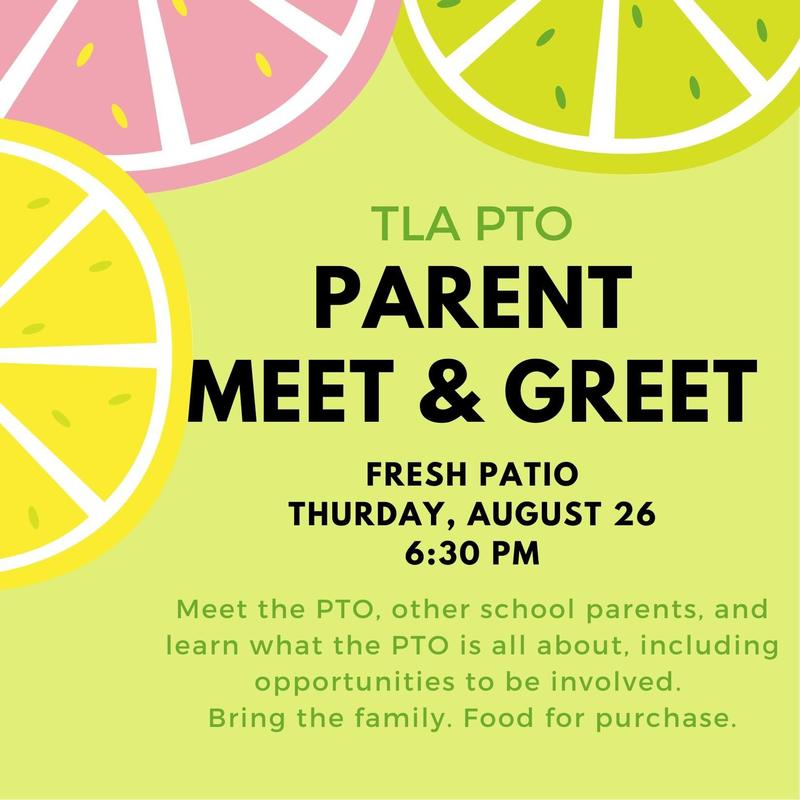 TLA PTO Parent Meet & Greet Featured Photo