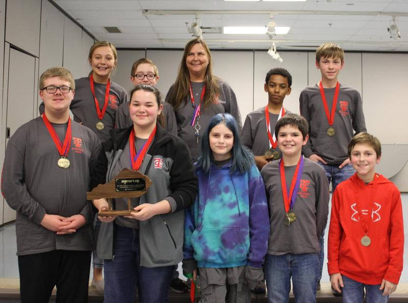TCMS Academic Team Advances to Regional Competition Featured Photo