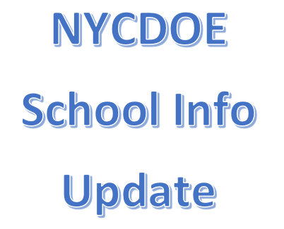 NYCDOE Update