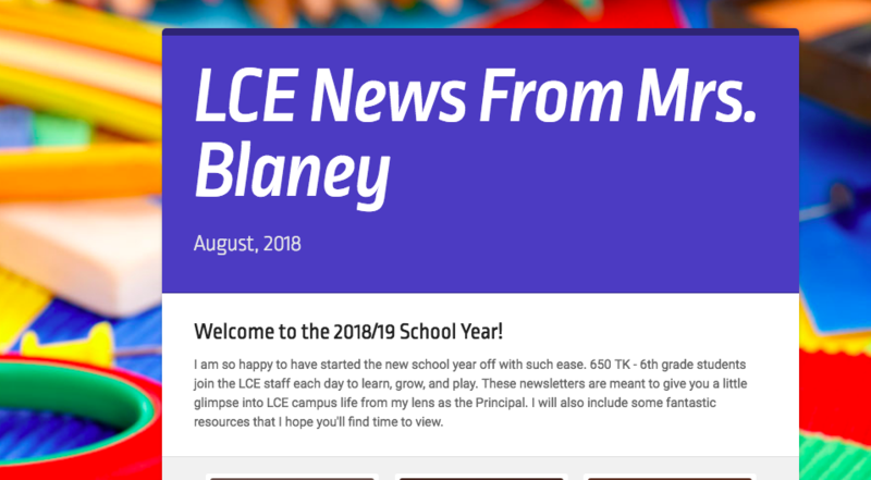 News from Mrs. Blaney Featured Photo