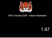 Girls' Varsity Golf