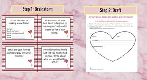 Brainstorm and Draft steps slide