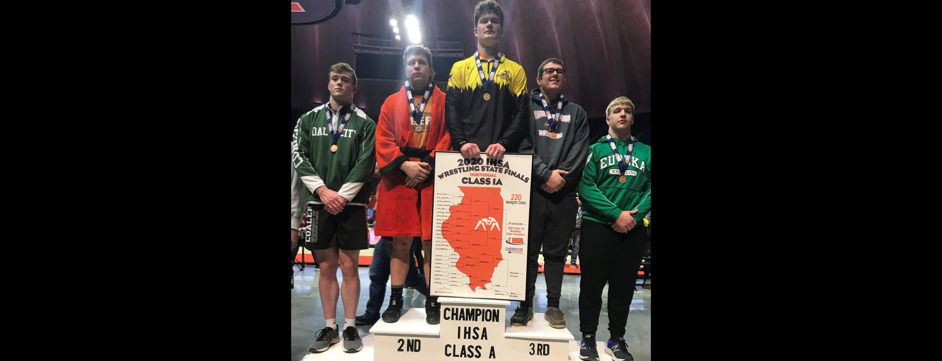 4th place finisher - individual wrestling state