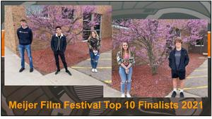 Five TKHS filmmakers were named as top 10 finalists in the Meijer Great Choices Film  Festival.