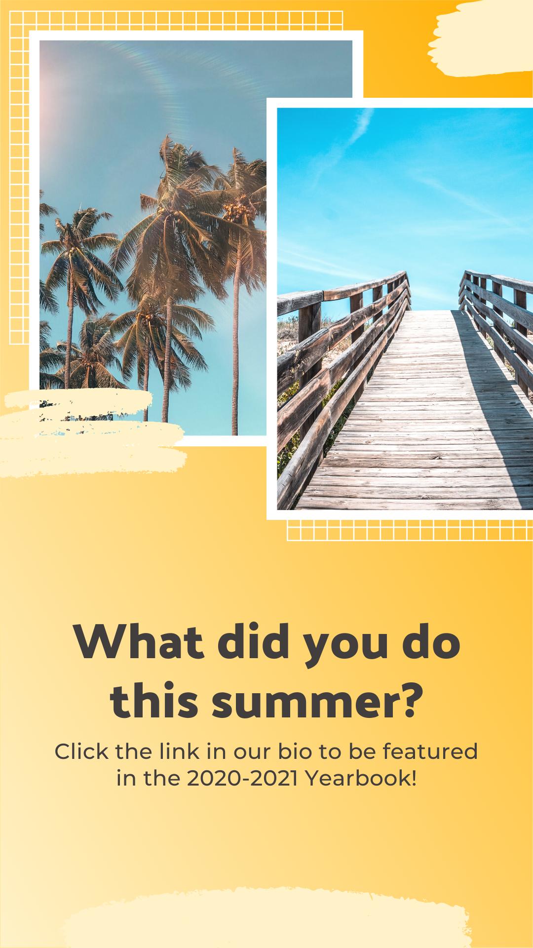 Summer Activities Prompt