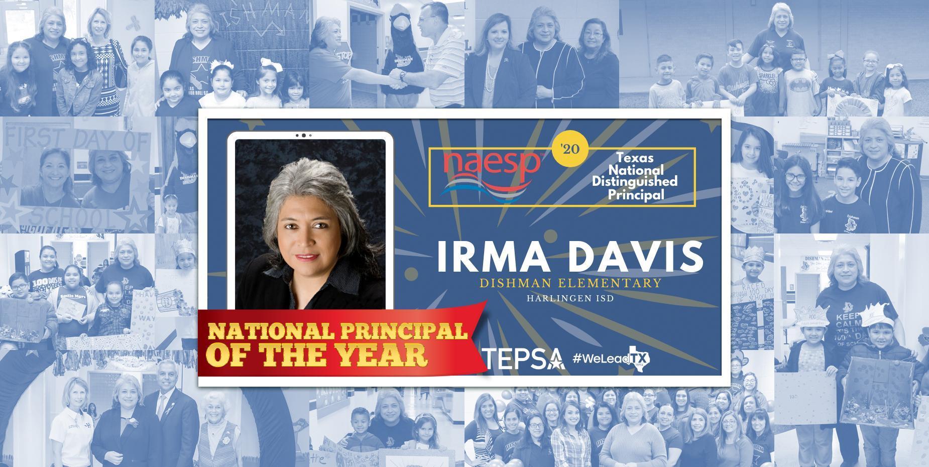 Dishman Elementary Principal named National Distinguished Principal