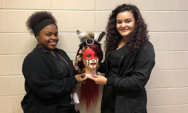 Cosmetology Manikin Halloween Contest