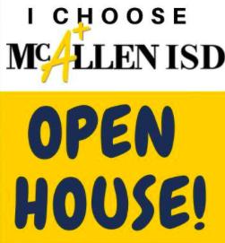 quote: i choose mcallen isd - open house