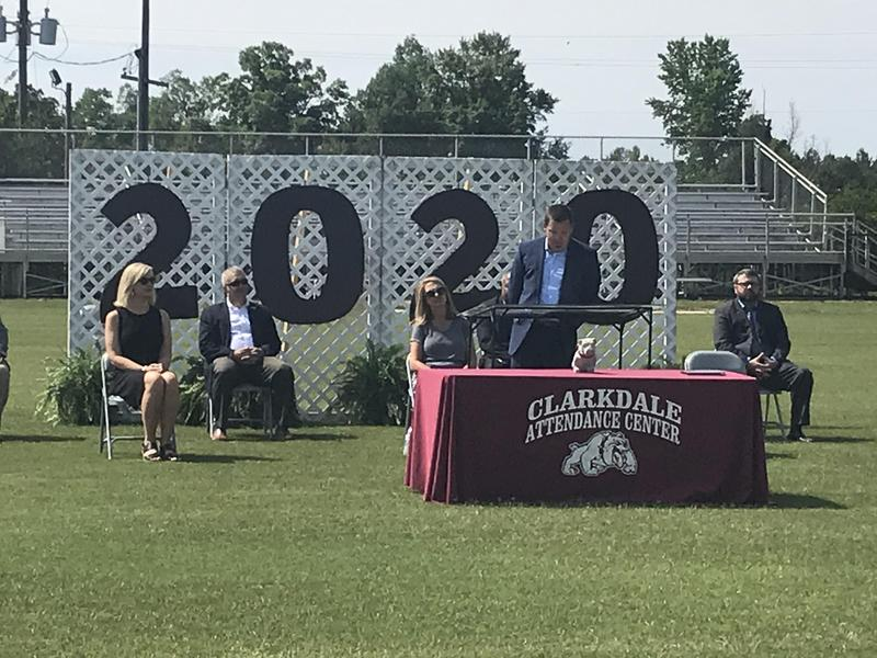 Clarkdale High School Military Obligation Graduation Photo
