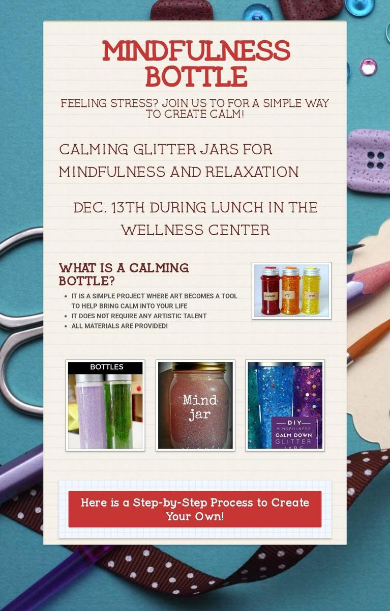 MINDFUL GLITTER JARS
