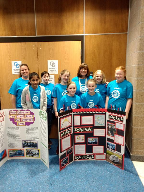 Pilot Robotics Team at RoboDavidson competition.