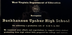 BUHS awarded for a graduation rate of 91.02% in 2017