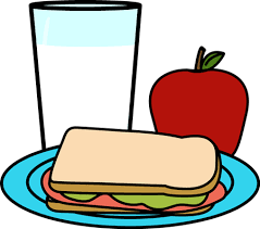 Clipart of school meal