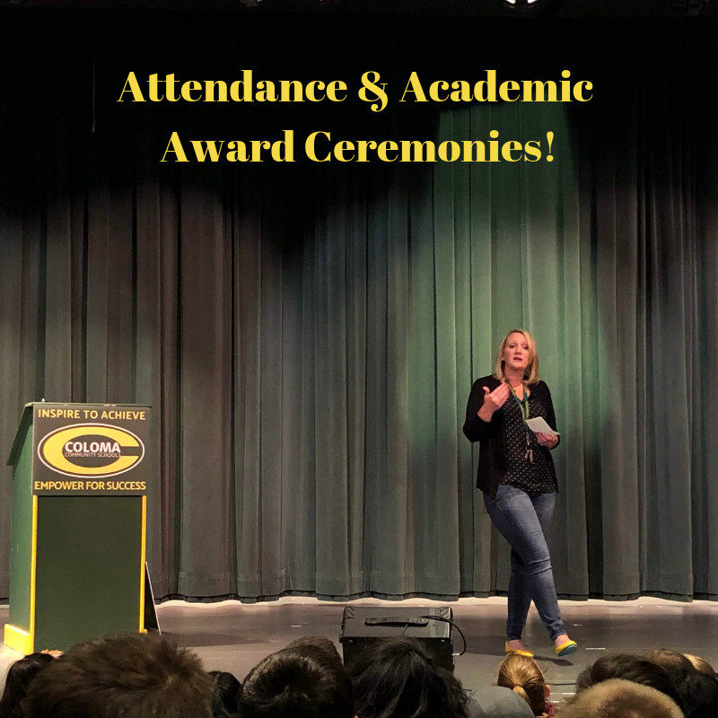 1st Semester Attendance and Academic Awards Thumbnail Image