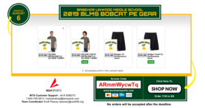 BLMS PE Gear Second Chance