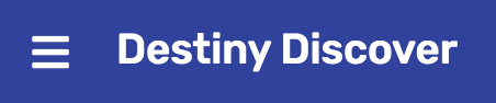 Destiny Discover button