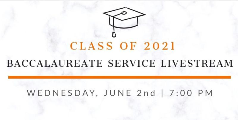 Baccalaureate Service Livestream Link Featured Photo