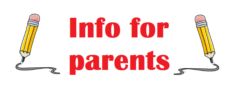 Info for parents graphic