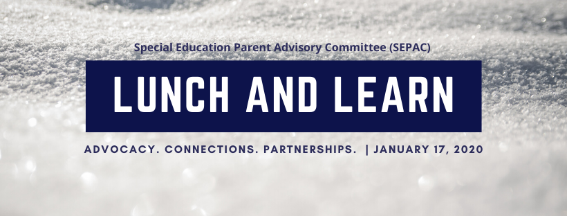 Lunch and Learn; Advocacy. Connections. Partnerships.; January 17, 2020