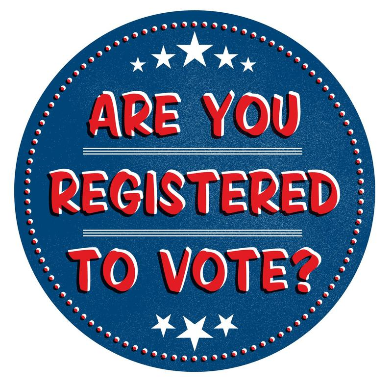 Register to Vote! Thumbnail Image