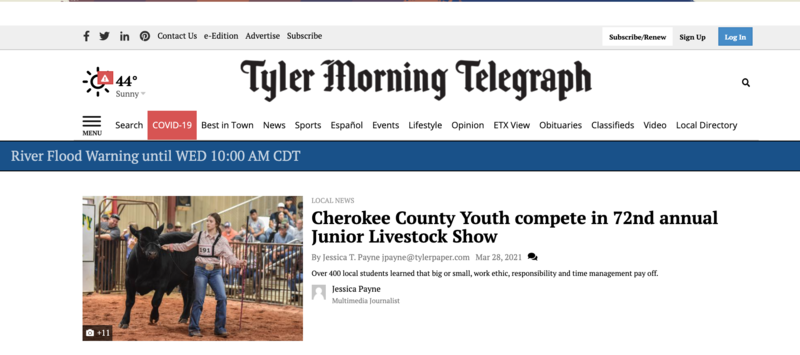 Cherokee County Show Highlights Featured Photo