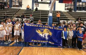 FISD Special Olympics Team Members