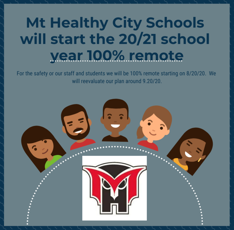 Mt. Healthy CSD Moving to All Remote for Start of School Year Featured Photo