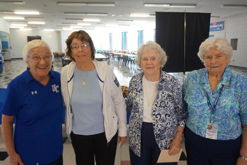 Sister Ann Sullivan, SSJ, Sister Alice Yohe, SSJ, and Sister Elaine McAteer, SSJ, honored by Union Catholic for their years of service Thumbnail Image