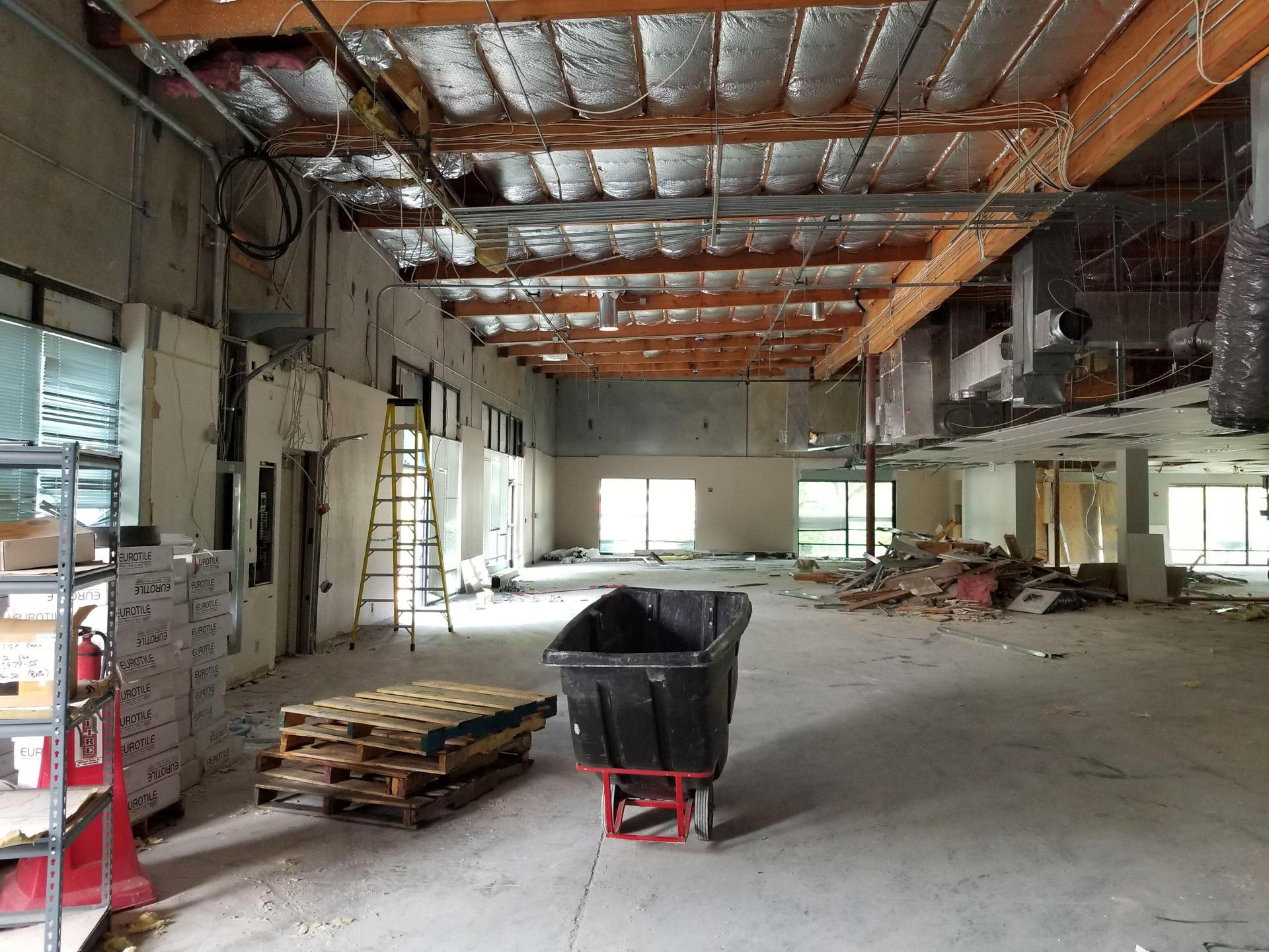 Future gym space