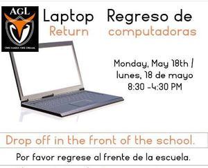 laptop return