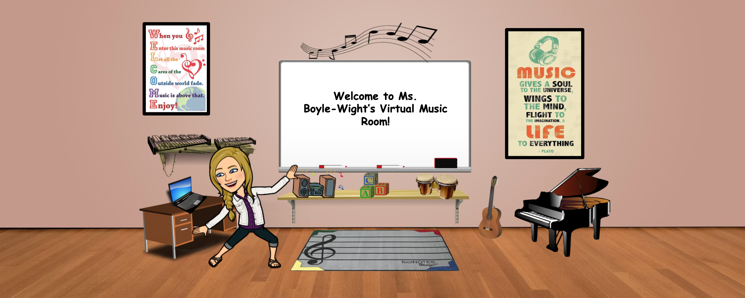 Ms. B's Virtual Music Room!