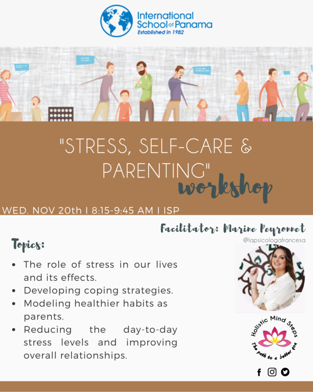 Stress, self care and parenting workshop Featured Photo
