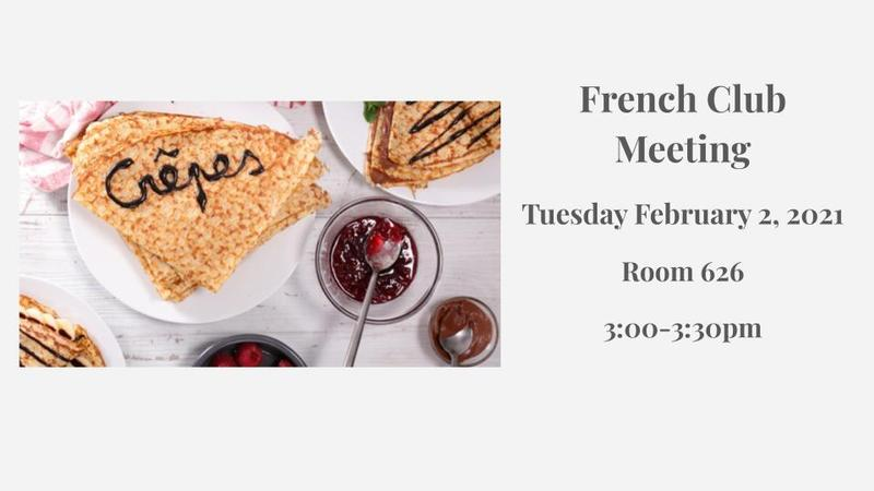 French Club Meeting