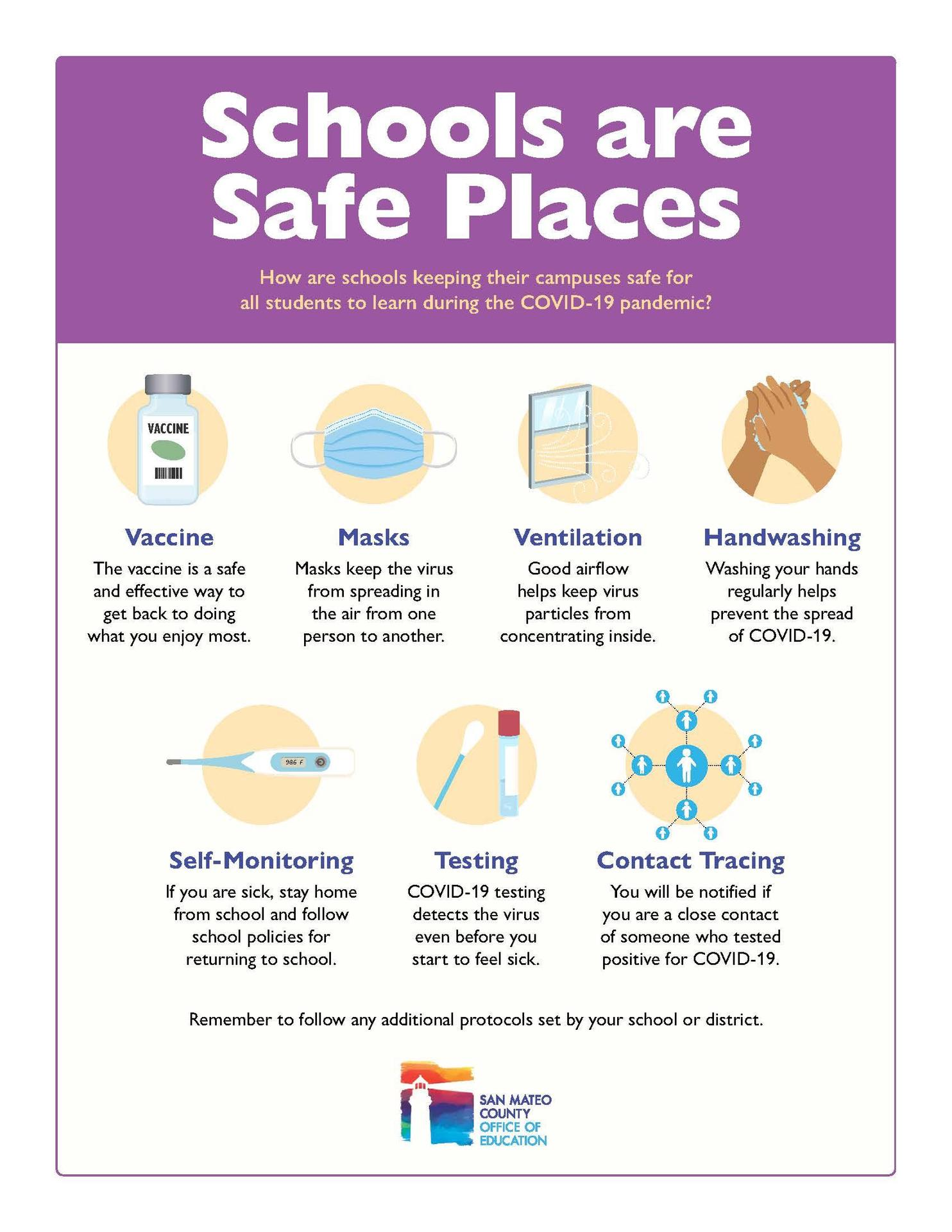 Schools Are Safe Places Image