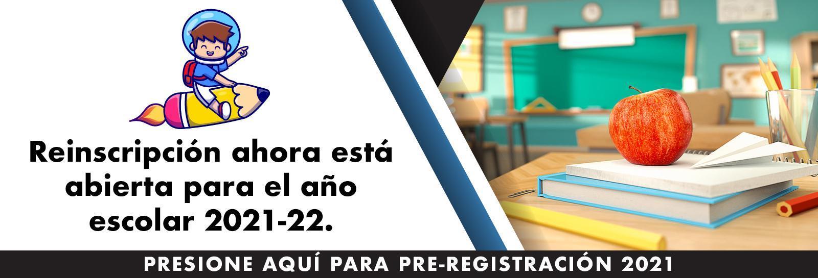 re enroll Spanish banner