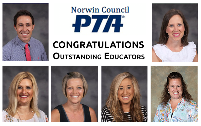 Outstanding Educators for 2019-2020