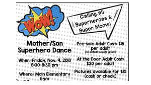 mother son dance info