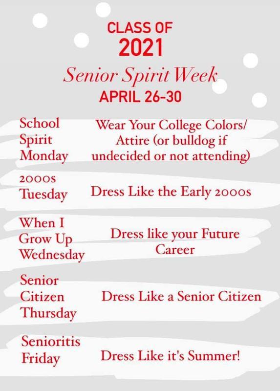 Senior Spirit Week Featured Photo