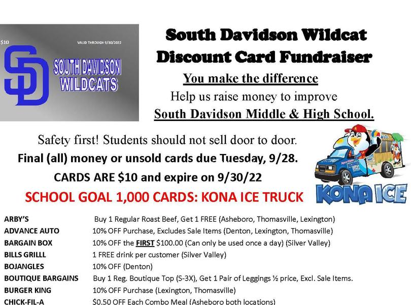 Discount Card Flyer