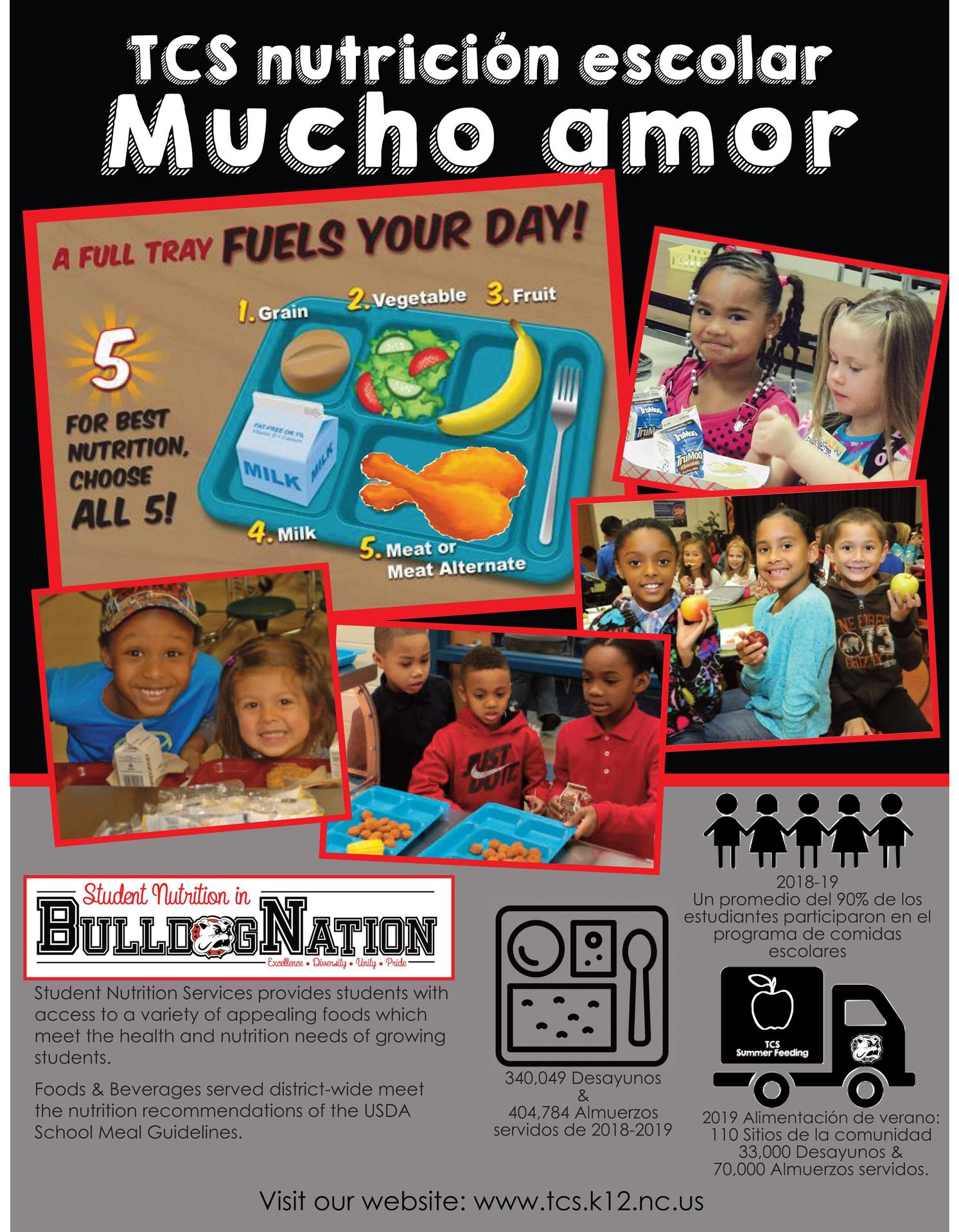 School Nutrition Flyer