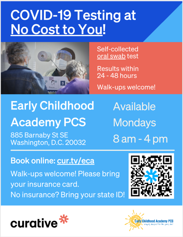 For the Community: Easy COVID Testing at ECA Featured Photo