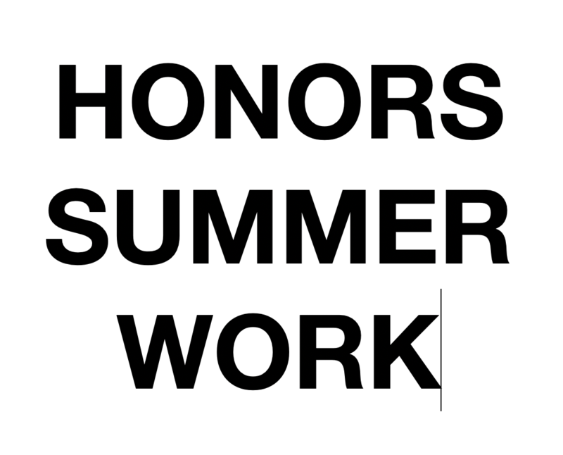 Summer Work for Honors ELA and Honors Math - Click here! Featured Photo