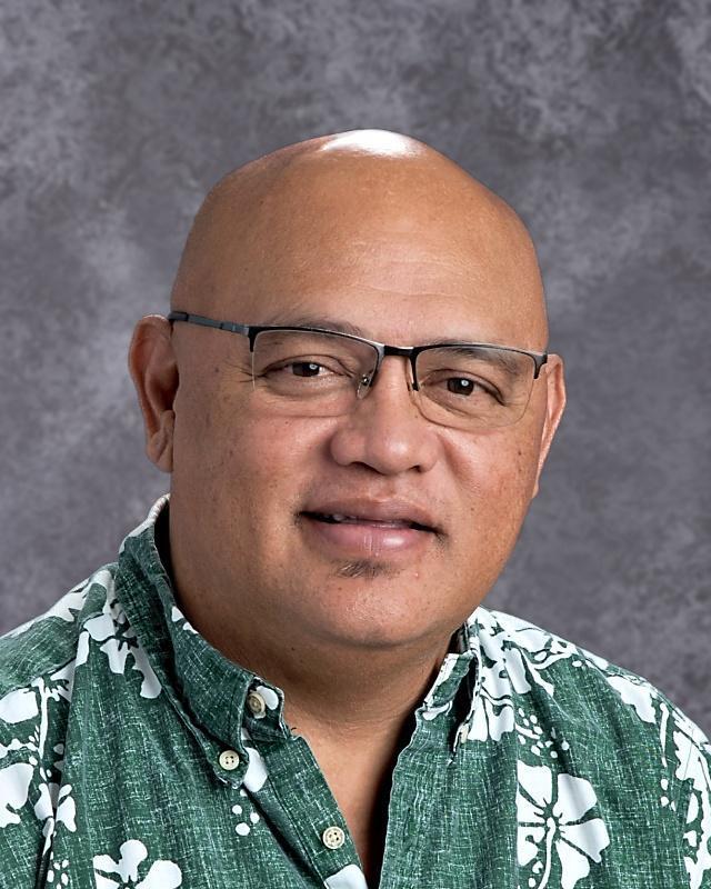 Principal David Tanuvasa