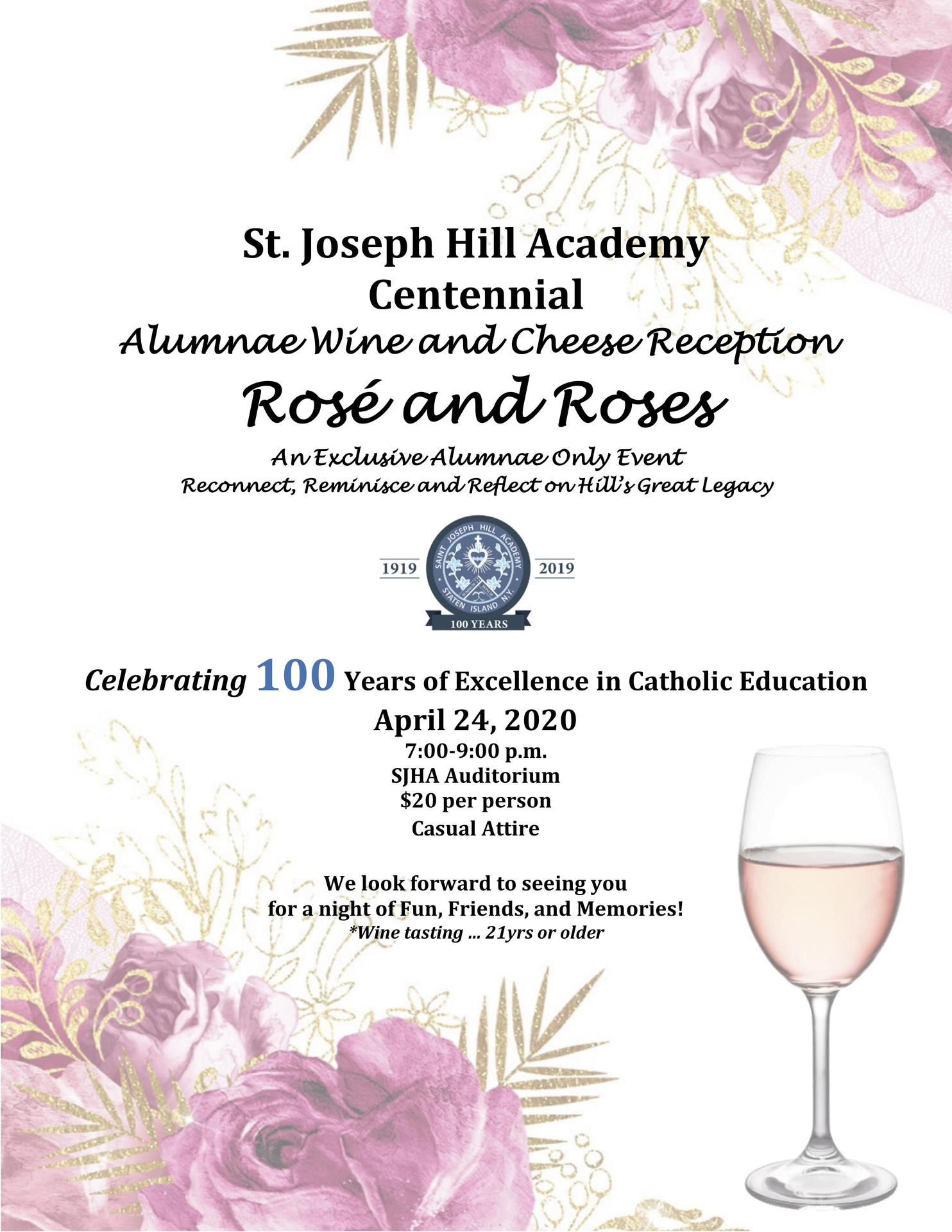 Alumnae Wine and Cheese Reception
