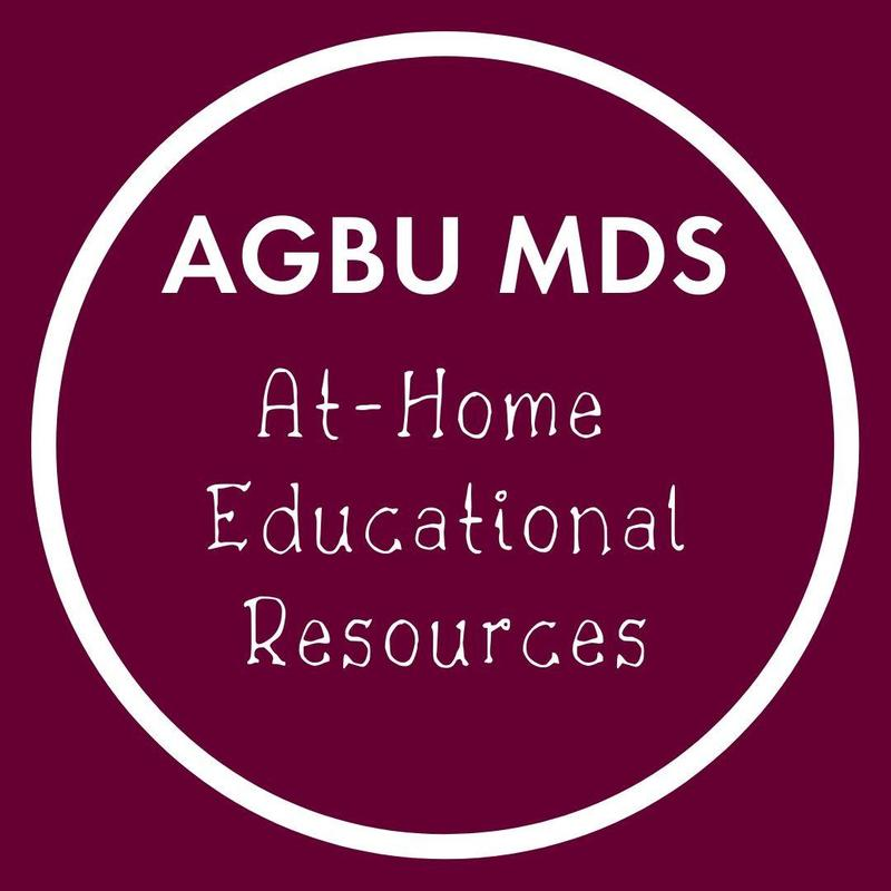 AGBU MDS - At-Home Educational Resources Featured Photo